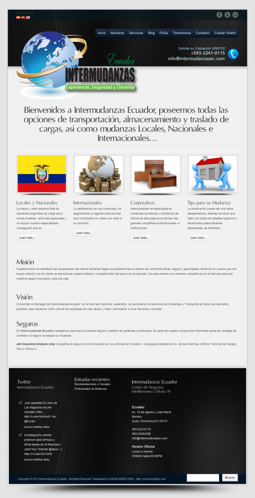Intermudanzas Ecuador